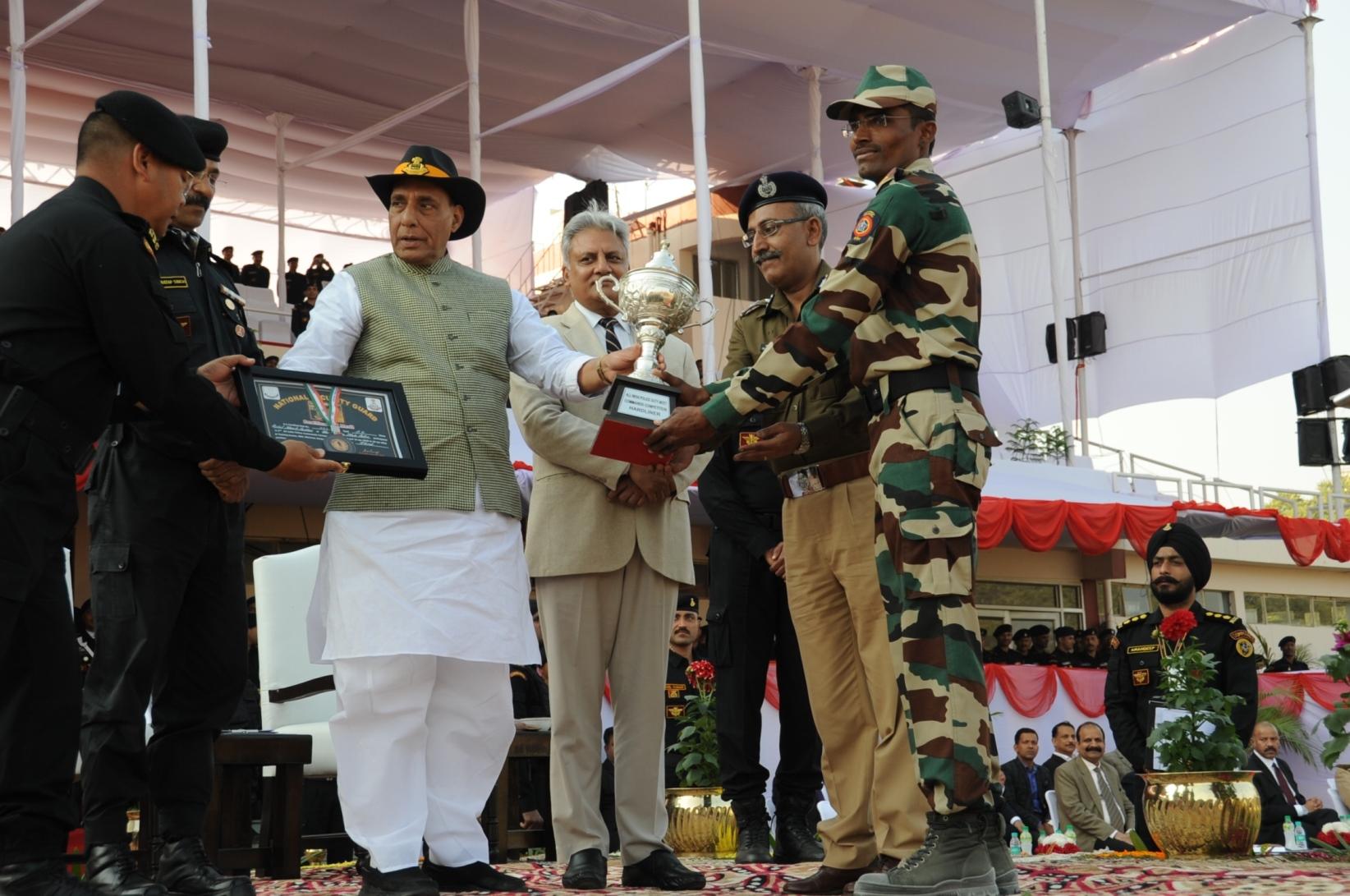 8 वीं अखिल भारतीय पुलिस कमांडो प्रतियोगिता 2018 समापन समारोह