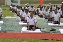 Celebration of 4th International Yoga Day 2018