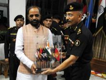Hon'ble Home Minister visit at Manesar Garrision