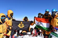NSG Commandos successfully scaled Mount Everest