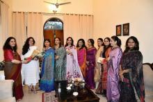 श्रीमती कविता रानाडे, उपाध्यक्ष, नव्या का विदाई समारोह
